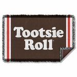 Tootsie Roll Wrapper Throw Blanket