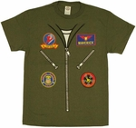 Top Gun Flight Suit T Shirt