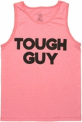 Tough Guy Pink Tank Top