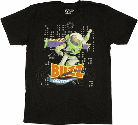Toy Story Buzz Lightyear T Shirt Sheer
