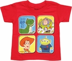 Toy Story Four Blocks Toddler T Shirt