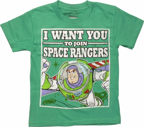 Toy Story Join Space Rangers Juvenile T-Shirt