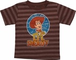 Toy Story Lil Sheriff Brown Toddler T Shirt
