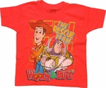 Toy Story Rescue Team Orange Juvenile T Shirt