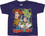 Toy Story Rescue Team Purple Juvenile T Shirt