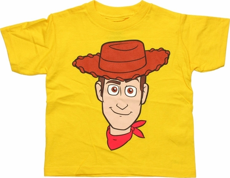 Toy Story Woody Portrait Toddler T Shirt