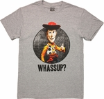 Toy Story Woody Whassup T Shirt