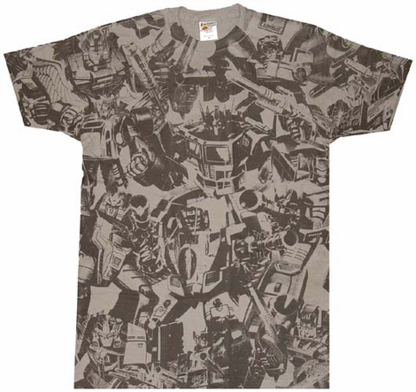 Transformers Autobot Collage T-Shirt