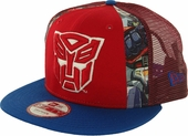 Transformers Autobot Dye Slice Mesh 9FIFTY Hat