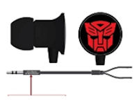Transformers Autobot Earbuds