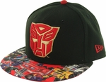 Transformers Autobot Faction Visor 59FIFTY Hat