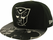 Transformers Autobot Glow Logo 59FIFTY Hat