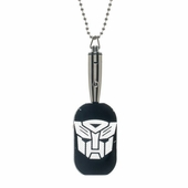 Transformers Autobot LED Light Up Dog Tag