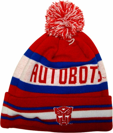 Transformers Autobot Name Beanie