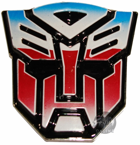 Transformers Autobot Painted Buckle