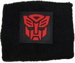 Transformers Autobot Rubber Patch Wristband