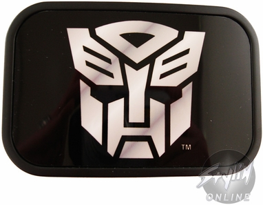 Transformers Autobot Silver Symbol Buckle
