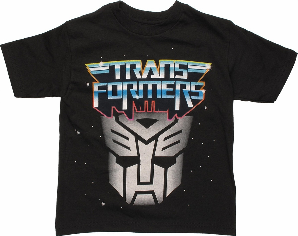Transformers Autobot Space Logo Juvenile T Shirt