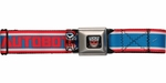 Transformers Autobots Name and Logo Seatbelt Belt