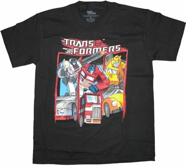 Transformers Autobots Youth T Shirt
