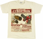 Transformers Battle Cybertron T Shirt Sheer