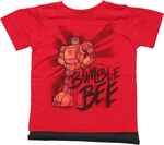 Transformers Bumblebee Cape Toddler T Shirt
