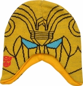 Transformers Bumblebee Head Beanie