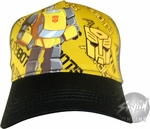 Transformers Bumblebee Toon Youth Hat