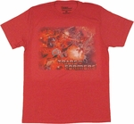 Transformers Classic Battle T Shirt Sheer
