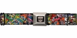 Transformers Comic Book Covers Seatbelt Mesh Belt