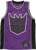 Transformers Decepticon Basketball Jersey