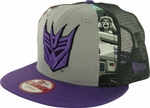 Transformers Decepticon Dye Slice Mesh 9FIFTY Hat