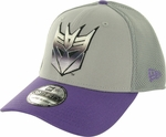 Transformers Decepticon Dyed Logo 39THIRTY Hat