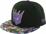 Transformers Decepticon Faction Visor 59FIFTY Hat