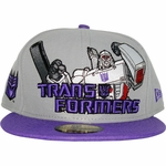 Transformers Decepticon Hero Logo 59FIFTY Hat