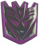 Transformers Decepticon Logo Belt Buckle