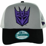 Transformers Decepticon Logo Mesh Hat