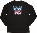 Transformers Decepticon Long Sleeve T Shirt
