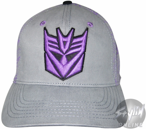 Transformers Decepticon Many Names Hat