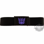 Transformers Decepticon Purple Symbol Belt