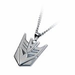 Transformers Decepticon Steel Necklace
