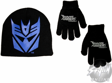 Transformers Decepticon Youth Beanie Combo