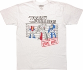 Transformers Decepticons Usual Bots T-Shirt