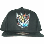 Transformers Dyed Decepticon Logo Hat