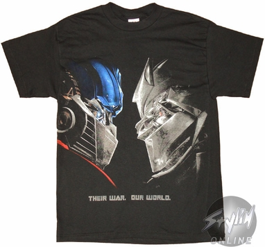 Transformers Face Off Movie T-Shirt