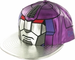 Transformers Galvatron Chrome Face 59FIFTY Hat
