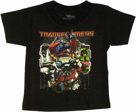 Transformers Group Fence Toddler T Shirt