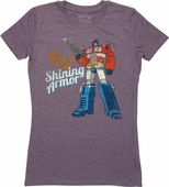Transformers Knight in Shining Armor Baby Tee