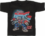 Transformers Little Autobot Optimus Prime Toddler T Shirt