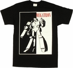 Transformers Megatron Silhouette T Shirt Sheer